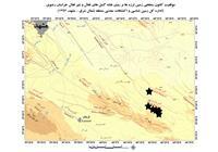 موقعیت کانون سطحی زمین لرزه مشهد در نقشه گسل های فعال و غیر فعال خراسان رضوی (1393)