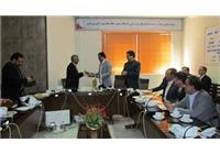 امضای موافقت نامه همکاری با نظام مهندسی معدن در جلسه کمیسیون معدن، اتاق بازرگانی