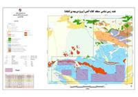 تلفیق نقشه زمین شناسی 250000  و تارگت های استخراج شده حاصل مطالعات قبل منطقه کلاته آهنی