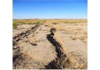 نمایی از فرونشست زمین در دشت های جوینسبزوار و  بجستان- یونسی
