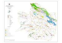 نقشه پراکندگی واحدهای کربناته در سطح استان خراسان رضوی
