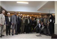 حضور مهندس سهیلی در مراسم بیستمین سالگرد تأسیس اداره کل زمین شناسی و اکتشافات معدنی منطقه شمال شرق